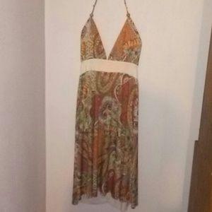 Beautiful halter top dress